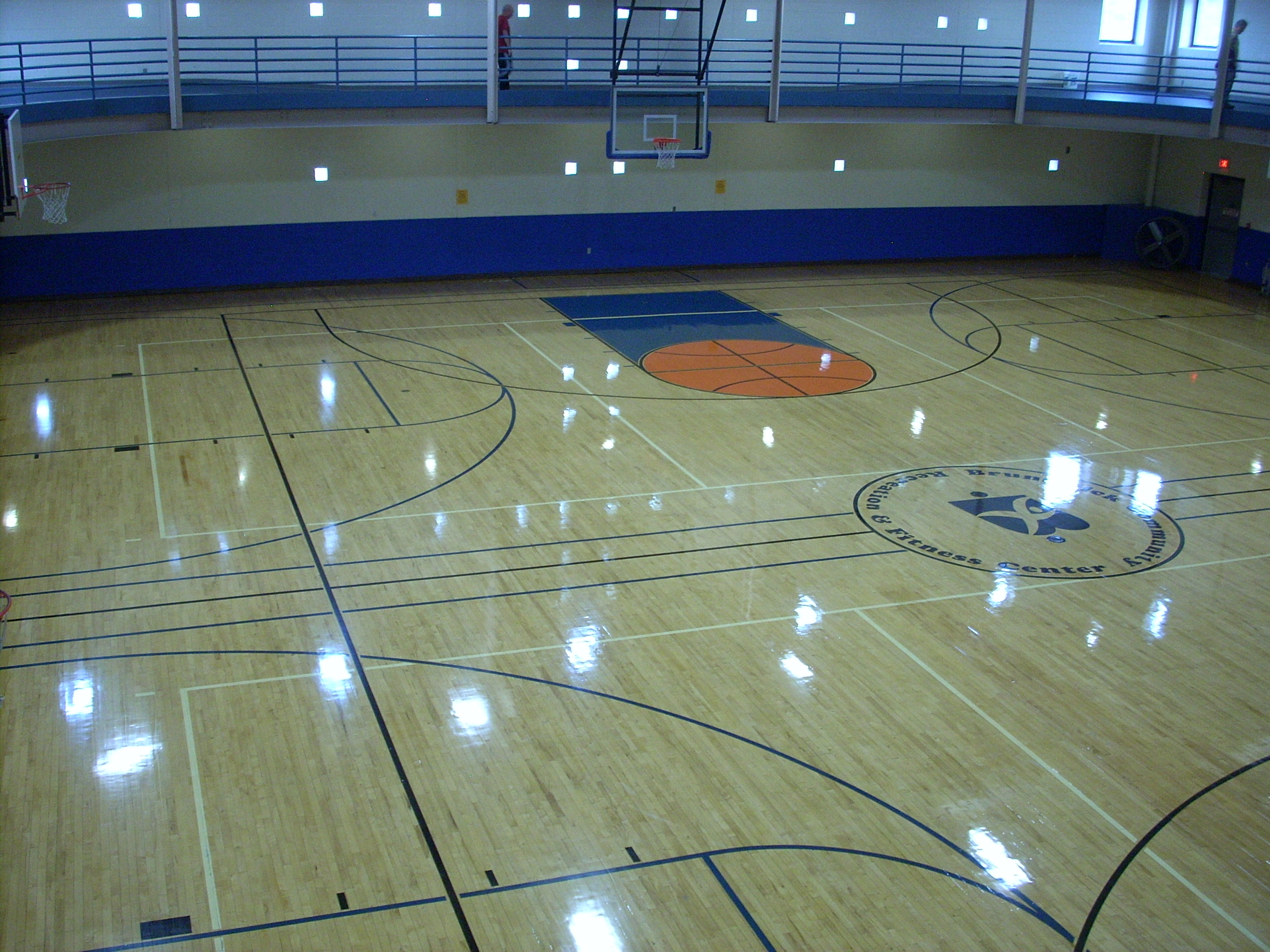 North Half of Gym @ Community Rec Center